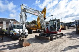 Takeuchi TB290 9T TRACKED EXCAVATOR, serial no. 190200125, year of manufacture 2014, approx. 4240