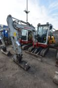 Takeuchi TB230 3T TRACKED EXCAVATOR, serial no, 1300011334, year of manufacture 2016, 18.2kW