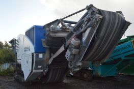 Kleeman MC110R EVO TRACKED JAW CRUSHER, serial no. K005078, year of manufacture 2016, indicated