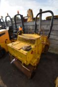Bomag BW120AD VIBRATORY ROLLER, serial no. 101170022324, 2470kg operating weight, indicated hours