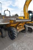 Thwaites 6T ARTICULATED DUMPER, VIN SLCM465ZZ507A6756, year of manufacture 2005, approx. indicated