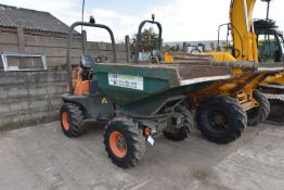 Ausa D350AHG 3T SWIVEL ARTICULATED DUMPER, serial no. 65165015, year of manufacture 2011, hours
