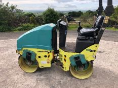 Ammann ARX12 ARTICULATED TANDEM ROLLER, year of manufacture 2014, 1.5T cap., indicated hours 339 (at