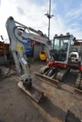 Takeuchi TB230 3T TRACKED EXCAVATOR, serial no. 130001335, year of manufacture 2016, 18.5kW engine