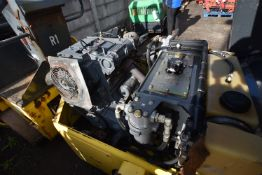 Bomag BW 120 AD-3 VIBRATORY ROLLER, serial no. 101170517201, year of manufacture 2001, indicated