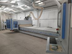 Homag 5 AXIS CNC PROFILINE BMG 511/74/19/F/R CNC PROCESSING CENTRE, serial no. 0-201-43-0250, year