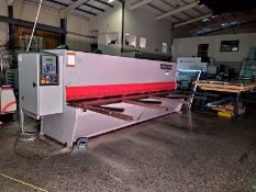 Edward Pearson VR 5/4000 4M x 5MM GUILLOTINE, serial no. 0IV208, year of manufacture 2001,