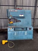 Kingsland 55 P 625 Hydraulic Punching Machine, serial no. 64487, free loading onto purchasers