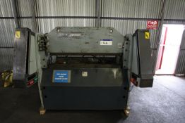 Edwards Truebend 25/1250 Press Brake, free loading onto purchasers transport - yes, item located