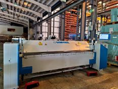 Schechtl MAE310/CNC BENDING / FOLDING MACHINE, capacity of max. 3,0 mm, serial no. MA6453, year of