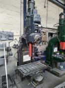 Archdale 560 3ft Radial Arm Drill, serial no. RD 12569, dimensions approx. 190cm wide, 293cm high,
