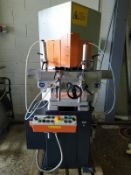ELUMATIC KS 101/30 SAW, serial no. 1013040480, year of manufacture 2008, free loading onto