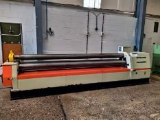 Edward Pearson AMB PICOT RCS150-30 PLATE ROLLING / BENDING MACHINE, serial no. 2003126, year of
