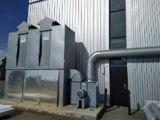 Air Plants Ltd 5/6 RHVLL Dust Extraction Unit, serial no. L945/8.95, free loading onto purchasers