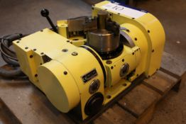 Nikken 5AX1200 / 9219-02350 COMPACT TILTING ROTARY TABLE, serial no. 0003R / H42500, year of