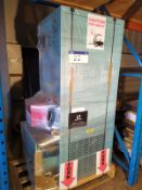 Powrmatic CPxO 30UF NEW UNUSED POWRMATIC CPX 30KW OIL FIRED WARM AIR CABINET HEATER, serial no.