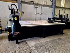 Tekcel VSE SERIES CNC ROUTER 10 x 5, serial no. 6056, year of manufacture 2009, dimensions