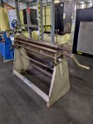 Waltons TSR 3 50 48inch pyramid rolls, serial no. 8682, free loading onto purchasers transport -