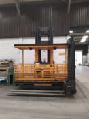 Atlet Combi Narrow Aisle Fork Truck, free loading onto purchasers transport - yes, item located in