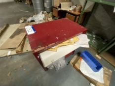 Mobile Wooden Desk (lot located at Briscoe Lane, Newton Heath, Manchester, M40 2NL)