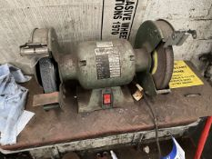 Double Ended Bench Grinder, 240V (plug missing) (lot located at Briscoe Lane, Newton Heath,