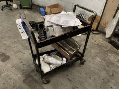 Two Tier Trolley, with contents (lot located at Briscoe Lane, Newton Heath, Manchester, M40 2NL)