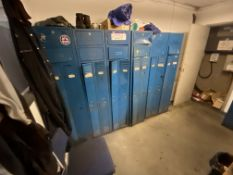 Assorted Personnel Lockers (no keys) (lot located at Briscoe Lane, Newton Heath, Manchester, M40