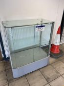 Glazed Display Cabinet (lot located at Briscoe Lane, Newton Heath, Manchester, M40 2NL)