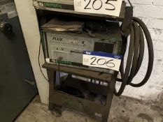 Protech Flux 5000 II Infrared Exhaust Gas Analyser, with trolley (lot located at Briscoe Lane,