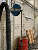 Three Nederman Retractable Water/ Oil Dispense Hoses (lot located at Briscoe Lane, Newton Heath,