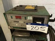 Protech OPAX 2000 II Gas Analyser, 240V (lot located at Briscoe Lane, Newton Heath, Manchester,