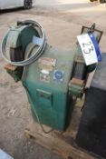 Union approx. 380mm dia. Double Ended Grinding Machine, serial no. 154567, 415V
