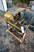 Piset BTM NO2 Pipe Threading Machine, serial no. 70080, 400V, with equipment on pallet