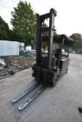 Lansing FOER15.1 4.0 PFL 3500kg cap. BATTERY ELECTRIC FORK LIFT TRUCK, serial no. 86100298, mast