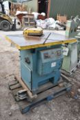 225mm x 225mm Hydraulic Shear, with mobile stand