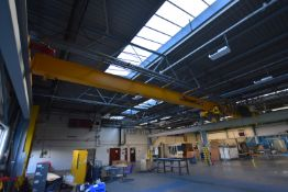 Street SINGLE GIRDER PENDANT CONTROLLED TRAVELLING OVERHEARD CRANE, 3.2t cap., serial no. 1211401,