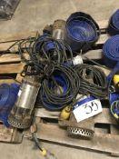 Three JS Submersible Pumps, 110V