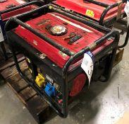 BL2500 Mini Petrol Site Generator, 110-240V output