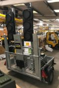 SRL Eurp CEP0102P Two Way Traffic Light System, wi