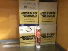 48 Tubes of Ever Build General Purpose White Silic