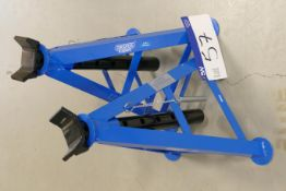 Two Draper 6000kg SWL Axle Stands (unused)