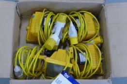 Four 110V Lamps