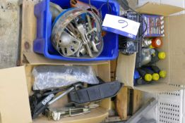 Contents of Pallet, including lubricants, puller sets and equipment