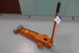 2.5 tonnes Long Reach Hand Hydraulic Trolley Jack