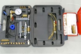 Fuel Injection Test Kit, with injector cleaning kit