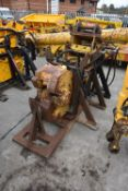 Mobile Frag Sales MF. HYDRAULIC RAIL CROPPER, serial no. 108, year of manufacture 2001, with steel