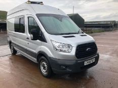 Extra Lot - Ford TRANSIT 350 2.2 TDCi 155PS EURO 5 FOUR WHEEL DRIVE HIGH ROOF UNIQUE TRAVELLING WORK