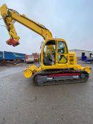 Extra Lot - Kobelco SK135SRLC-1F Track Rail Bug Excavator (9A), no. RRC080, OEM no. YH02-01904,