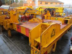 Thompson Hydraulic Fast Clipper, serial no. FC20112005, year of manufacture 2001, plant no.