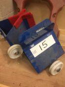 Two 250kg cap. Board/ Sheet Trolleys